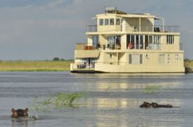 Botswana Houseboat Safari
