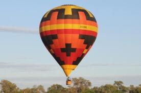Okavango Delta Ballooning