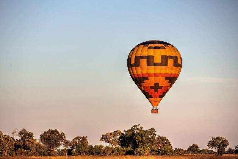 Flight over Chobe Region