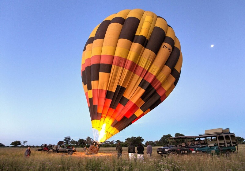 Hot Air Balloon Inflated