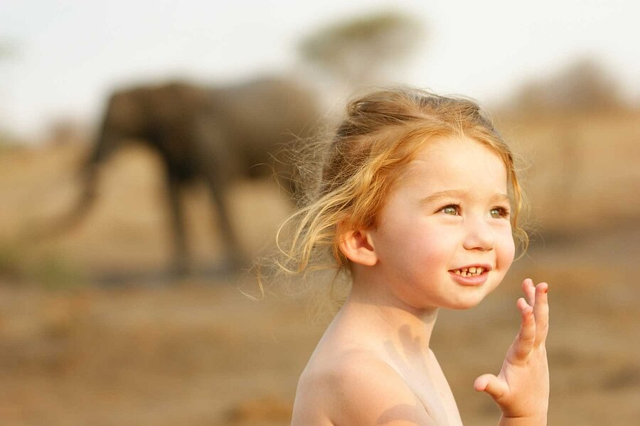 Botswana Travel with Toddlers & Babies