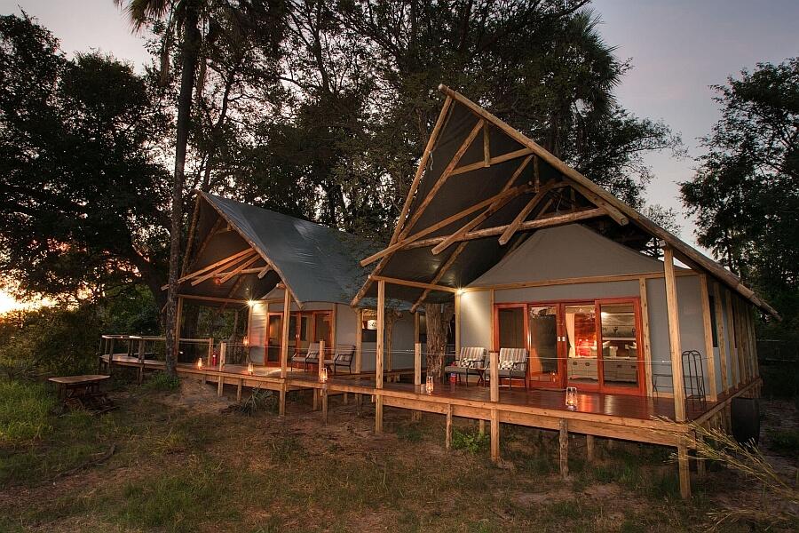 Family Accommodation in Okavango Delta