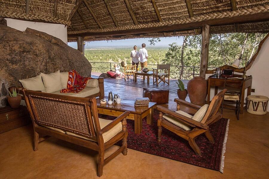 Private Safari House Elsas Kopje in East Africa